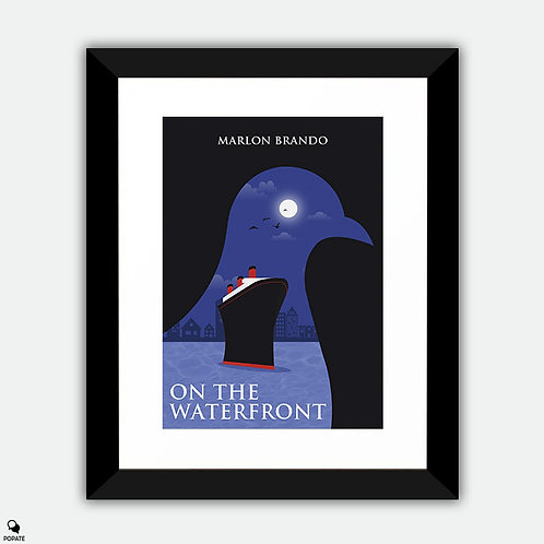 On the Waterfront Alternative Framed Print