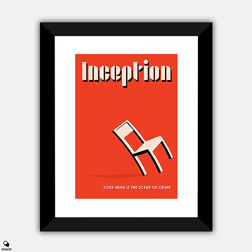 Inception Vintage Bauhaus Framed Print