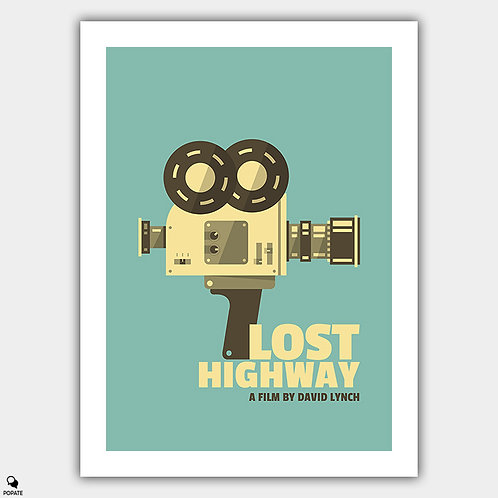 Lost Highway Alternative Vintage Poster