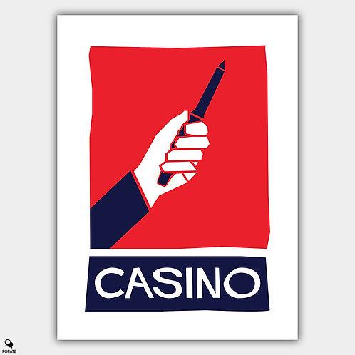 Casino Alternative Saul Bass Style Poster