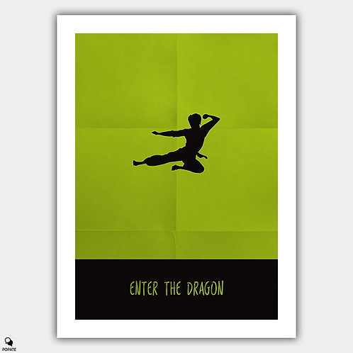 Enter The Dragon Minimalist Poster