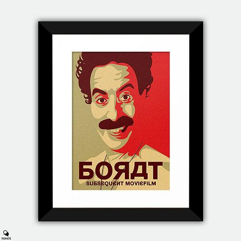 Borat Subsequent Moviefilm Alternative Framed Print