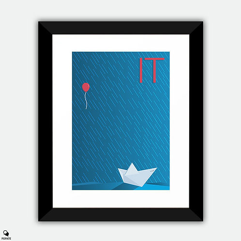 IT Minimalist Framed Print - SS Georgie