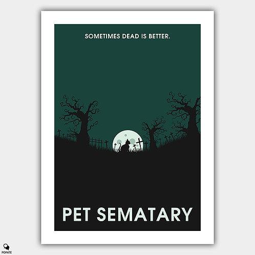 Pet Sematary Minimalist Poster