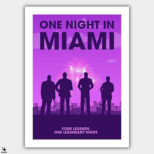One Night in Miami Minimalist Poster