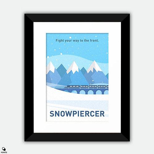 Snowpiercer Minimalist Framed Print