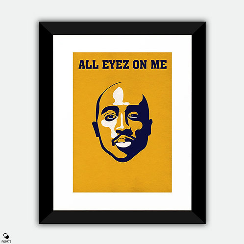 All Eyez On Me Alternative Framed Print