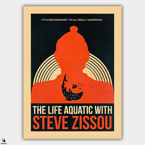 The Life Aquatic With Steve Zissou Vintage Alternative Poster