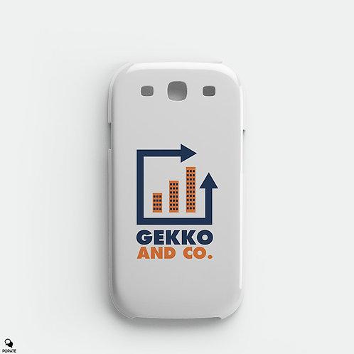 Gekko And Co. Alternative Galaxy Phone Case from Wall Street