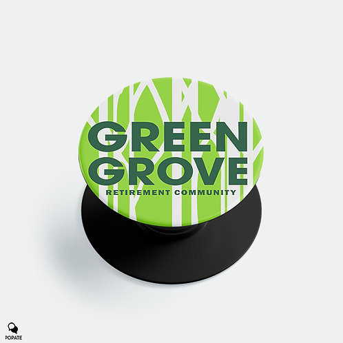 Green Grove Retirement Community Alternative Pop Holder from The Sopranos