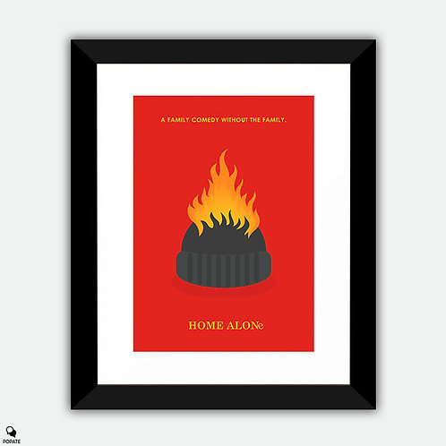 Home Alone Minimalist Framed Print - Harry