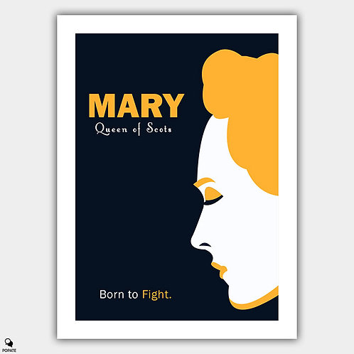 Mary Queen of Scots Alternative Minimalist Poster