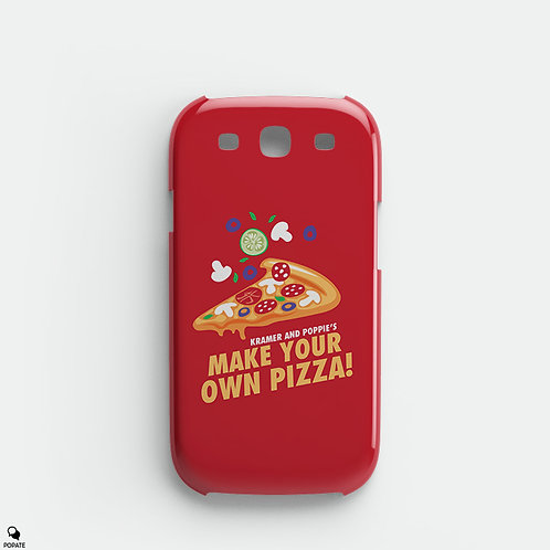 Kramer and Poppy's Make Your Own Pizza Alternative Galaxy Phone Case