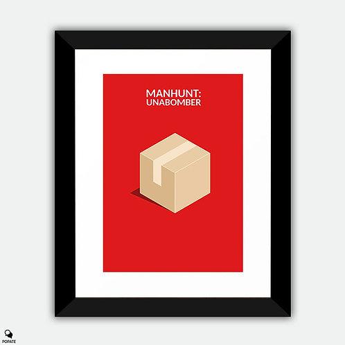 Manhunt: Unabomber Minimalist Framed Print