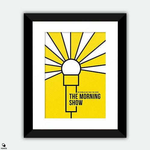The Morning Show Minimalist Framed Print