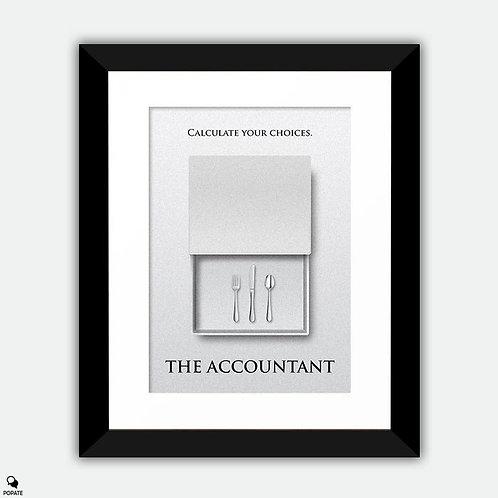 The Accountant Minimalist Framed Print