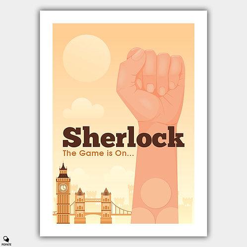 Sherlock Alternative Poster - Three Patch Problem