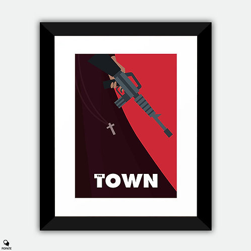 The Town Alternative Framed Print