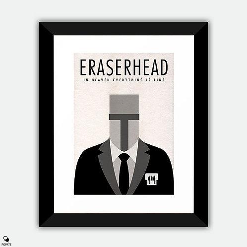 Eraserhead Minimalist Framed Print
