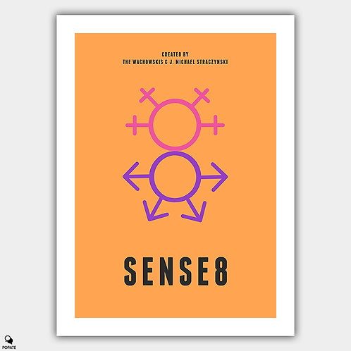 Sense8 Minimalist Poster
