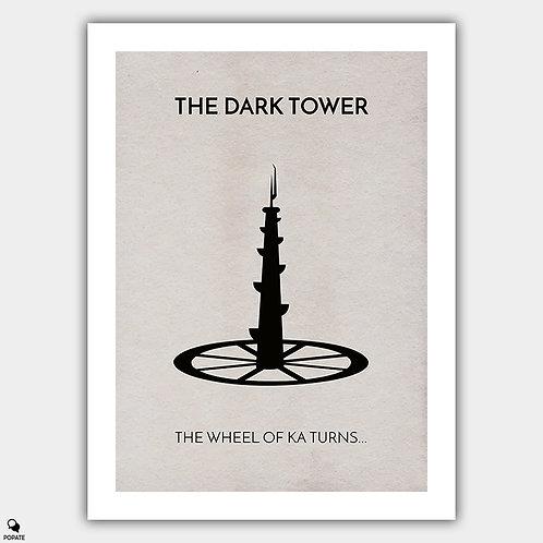 The Dark Tower Minimalist Poster