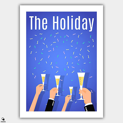 The Holiday Minimalist Poster