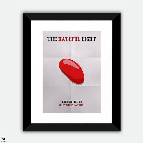 The Hateful Eight Minimalist Framed Print - Jellybean