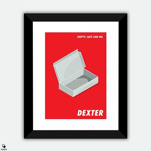 Dexter Minimalist Framed Print - Empty