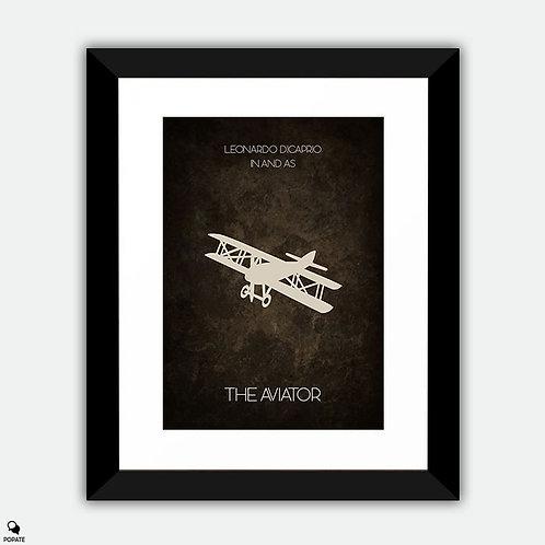 The Aviator Minimalist Framed Print