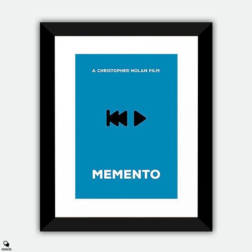 Memento Minimalist Framed Print