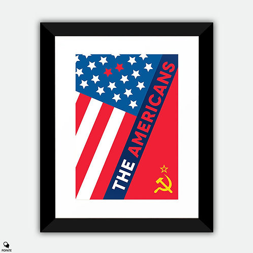 The Americans Alternative Framed Print