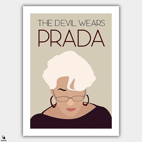 The Devil Wears Prada Minimalist Poster - Miranda Priestly