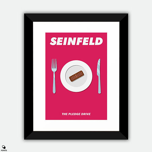 Seinfeld Alternative Framed Print - The Pledge Drive