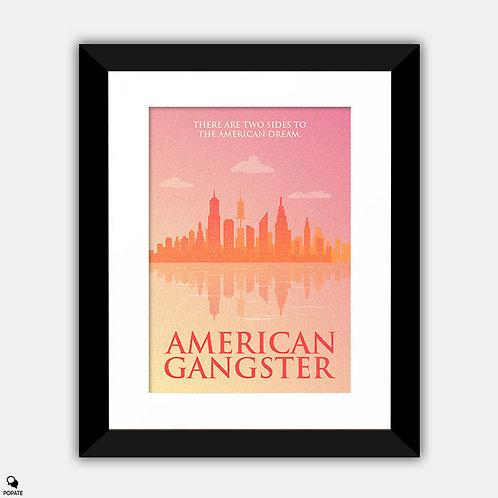 American Gangster Minimalist Framed Print - New York