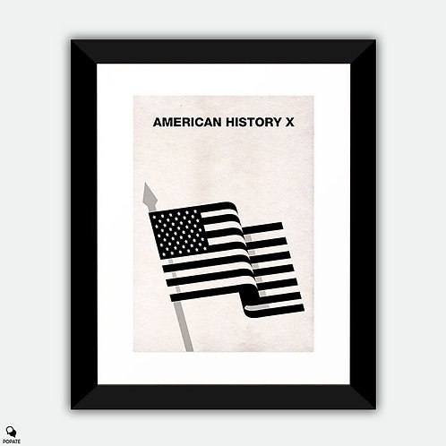American History X Minimalist Framed Print