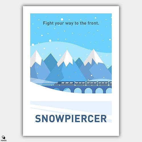 Snowpiercer Minimalist Poster