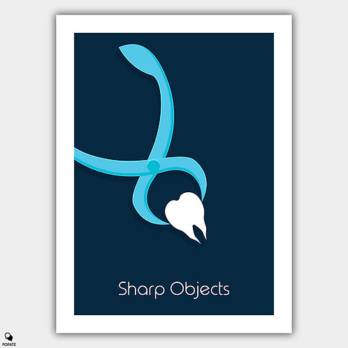 Sharp Objects Minimalist Poster - Tooth