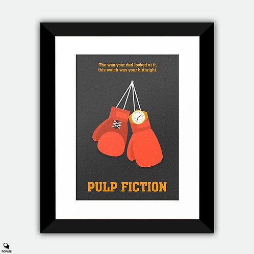 Pulp Fiction Alternative Framed Print - Butch