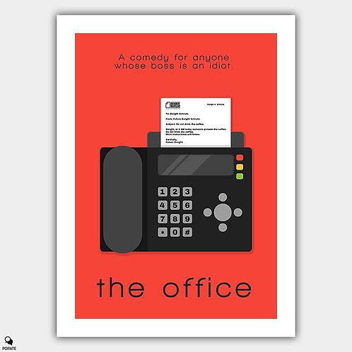 The Office Minimalist Poster - Future Dwight