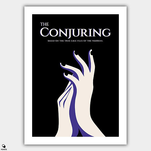 The Conjuring Alternative Poster - Clap and Seek