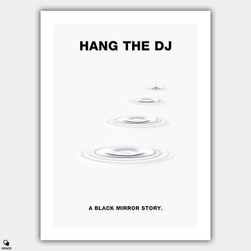 Black Mirror Minimalist Poster - Hang The DJ