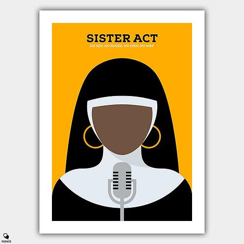Sister Act Minimalist Poster
