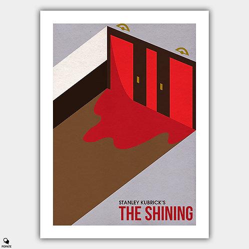 The Shining Minimalist Isometric Poster