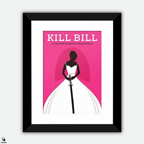 Kill Bill Vol. 1 Minimalist Framed Print - The Bride