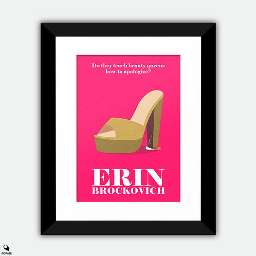 Erin Brockovich Alternative  Framed Print