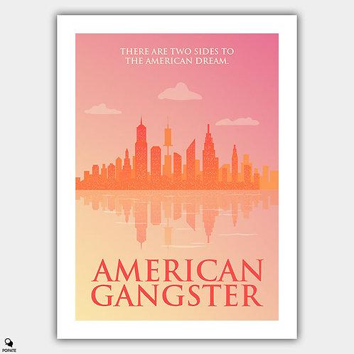 American Gangster Minimalist Poster - New York
