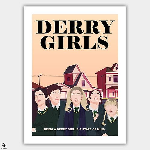 Derry Girls Minimalist Poster