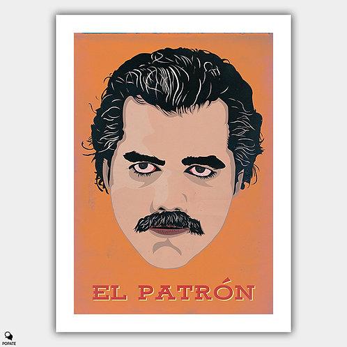 """Narcos Alternative Poster - """"El Patron"""""""