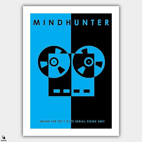 Mindhunter Minimalist Poster - Recorder