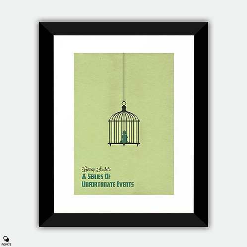 Lemony Snicket's A Series Of Unfortunate Events Alternative Framed Print
